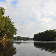 The Schuylkill River At West Conshohocken Poster