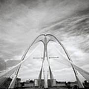 The Seri Wawasan Bridge In Purajaya In Malaysia Poster