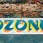 The Sign Of The Ozone Poster