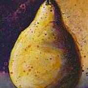 The Solitary Pear Poster