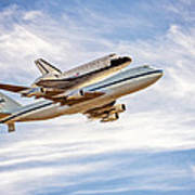 The Space Shuttle Endeavour Poster
