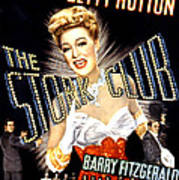 The Stork Club, Don Defore, Betty Poster by Everett