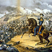The Storming Of Fort Donelson, February Poster