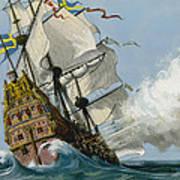 The Swedish Warship Vasa Poster
