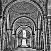 The Tombs At Fontevraud Abbey   France Poster
