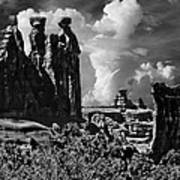The Tribunal Arches National Park Poster