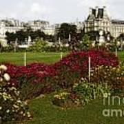 The Tuilleries Garden In Paris Poster
