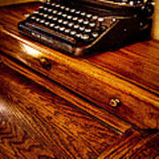 The Typewriter Poster by David Patterson