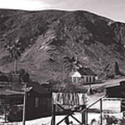 The Upper Village Of Calico Ghost Town Poster