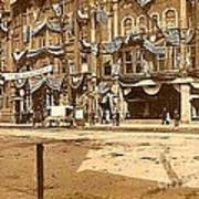 The Vaudeville Theatre In Shamokin Pa Around 1910 Poster