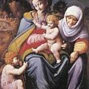 The Virgin And Child Poster