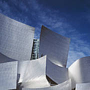 The Walt Disney Concert Hall, By Frank Poster