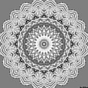 The White Mandala No. 2 Poster