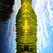 The Wine Bottle Poster