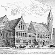 Theological Seminary, 1884 Poster