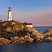 This Is British Columbia No.62 - Point Atkinson Lighthouse Point Poster