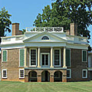 Thomas Jeffersons Poplar Forest Poster