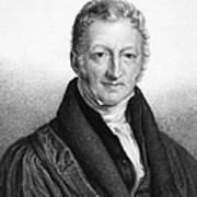 Thomas Robert Malthus Poster