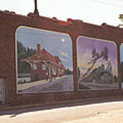 Thomasville Painted Wall Poster