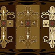 Three Crosses Poster