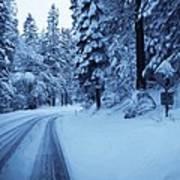 Through The Snow Poster