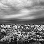 Thunderous Morning Over Cappadocia Poster