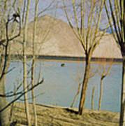 Tibet Lake Burial Poster