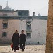 Tibet Monks 6 Poster