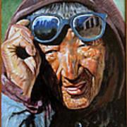 Tibetan Woman Poster
