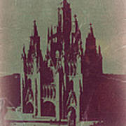 Tibidabo Barcelona Poster