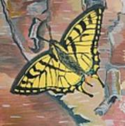 Tiger Swallowtail Poster by Amy Reisland-Speer