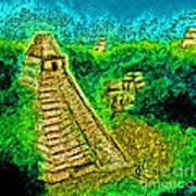 Tikal By Jrr Poster