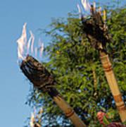 Tiki Torch Poster