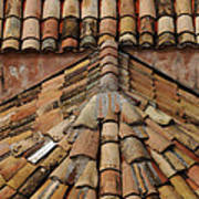 Tile Roof In Croatia Poster