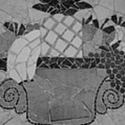 Tiled Fruit Poster