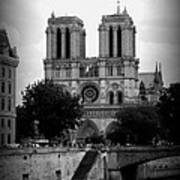 Timeless Notre Dame Poster