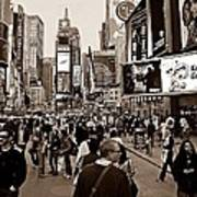 Times Square New York S Poster