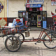 Tiny Biker Poster