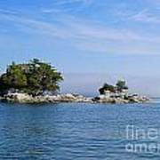 Tiny Island Off Vancouver Island Poster