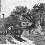 Toll Gate, 1879 Poster