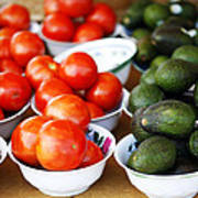 Tomato Y Avacado Poster