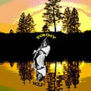 Amber Lake #3 Poster