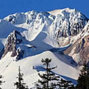Top Of Mt. Hood Poster