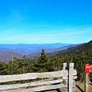 Top Of The Mountain In North Carolina Poster