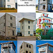 Topsail Island Towers Poster