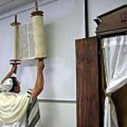 Torah Being Lifted Up Poster