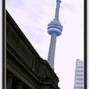 Toronto Cn Tower Canada Poster