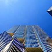 Toronto Financial Core Buildings Poster
