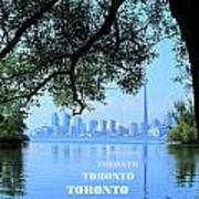 Toronto Harbour Poster Poster