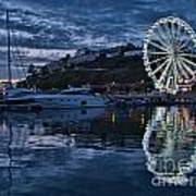 Torquay Marina And The Big Wheel Poster
